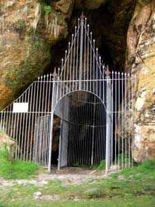 The King's Cave, Isle of Arran, Scotland, hiding place of Robert the Bruce
