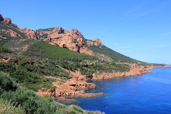 Anthéor, la calanque écarlate : Marseille, Cassis, La Ciotat : cabotage dans les calanques - Linternaute