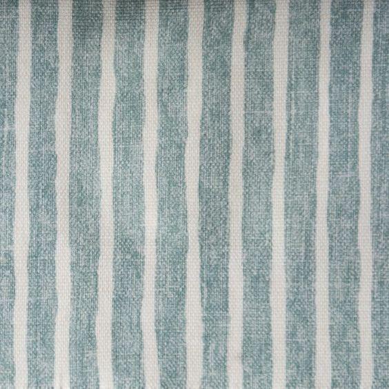 Titley Marr Kerala Stripe In Ocean 1 Striped Upholstery Fabric Striped Upholstery Upholstery Fabric