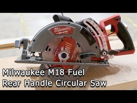 New Milwaukee M18 Fuel Rear Handle 7 1 4 Circular Saw With Images Milwaukee Circular Saw Milwaukee Tools