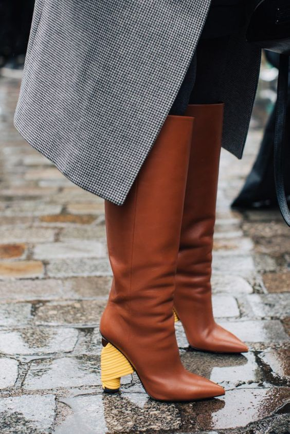 Rainy Day? Here's What Fashion Girls Wear via @WhoWhatWear