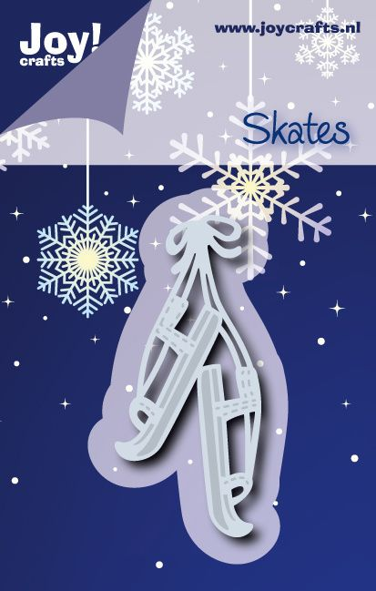 6002/2055 Noor! Design Winter Wishes Schaatsen