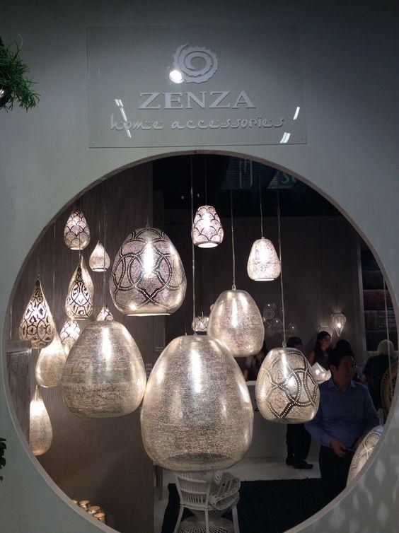 Lampadas Zenza, prata