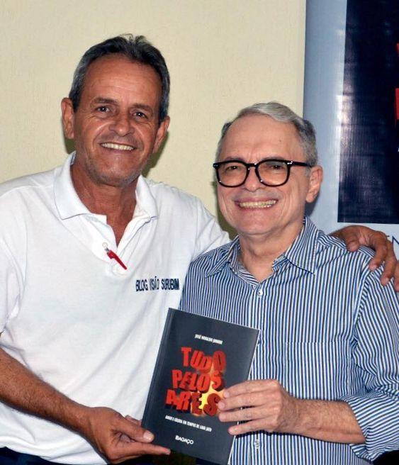 Visão Surubim: Dr, José Nivaldo Junior lança mais um livro no Res...