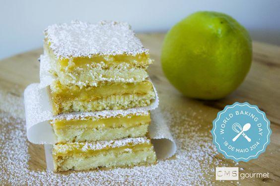 Quadradinhos de limão - World Baking Day 2014