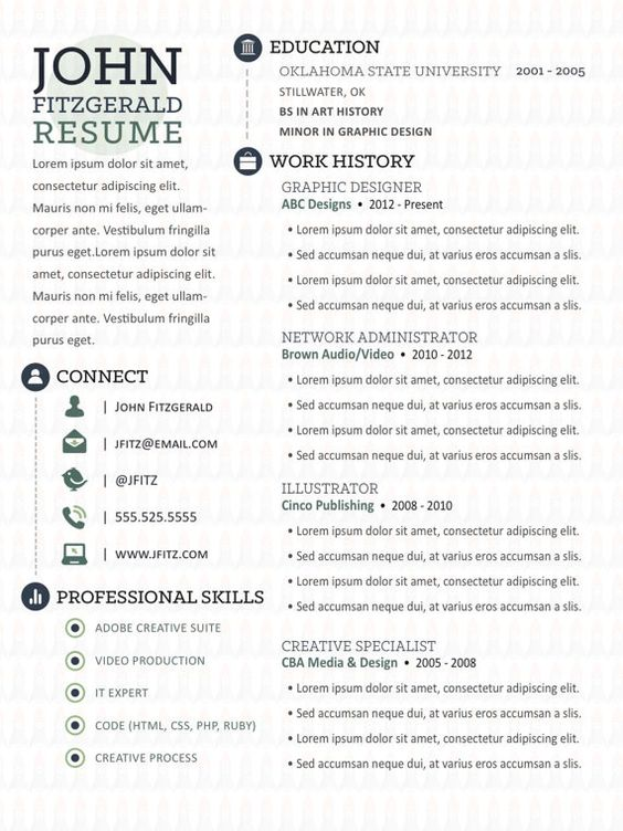 cool Excellent Ways to Make Great Bartender Resume Template, Check - canadian resume templates free