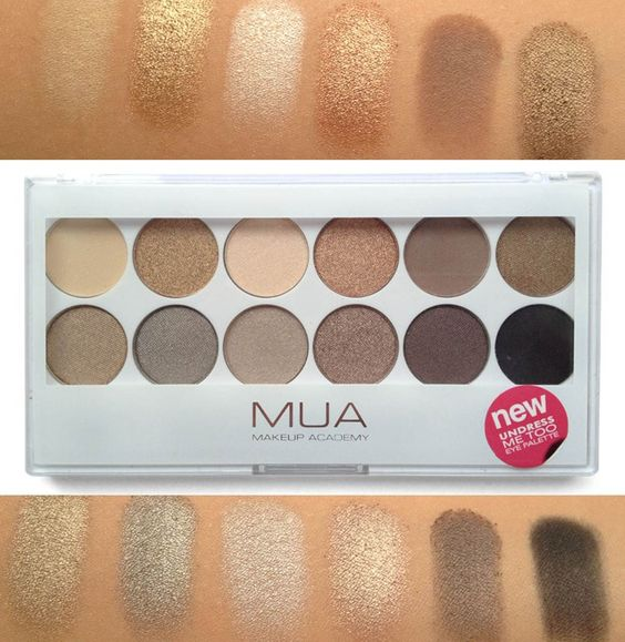 MUA Makeup Academy | Undress Me Too Palette