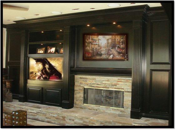 Fireplace Entertainment Centers Entertainment Center And Entertainment On Pinterest