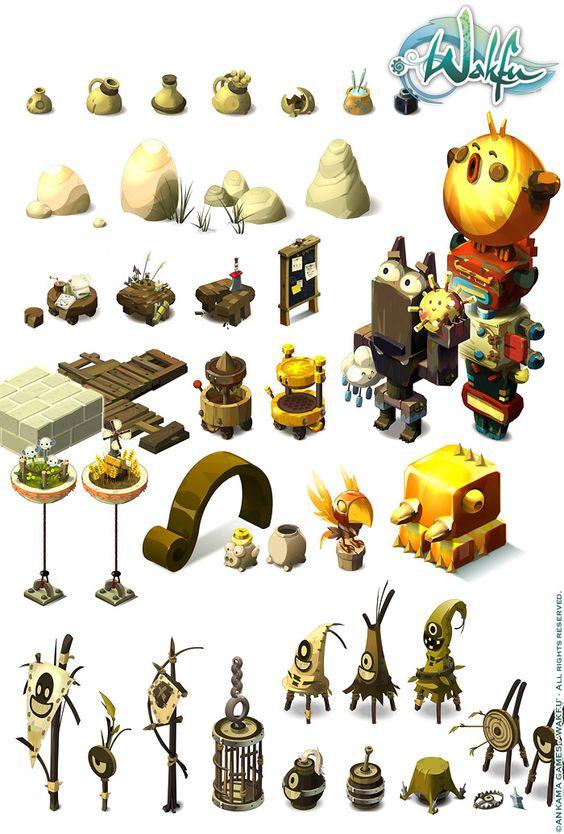 sephyka_ANKAMA_Wakfu-MMORPG_background-isometric-pictos_4.jpg (700×1036)