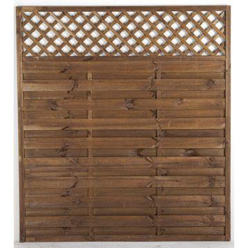 panneau droit occultant savanne 200x180 cm couleur lasur marron 49 90. Black Bedroom Furniture Sets. Home Design Ideas