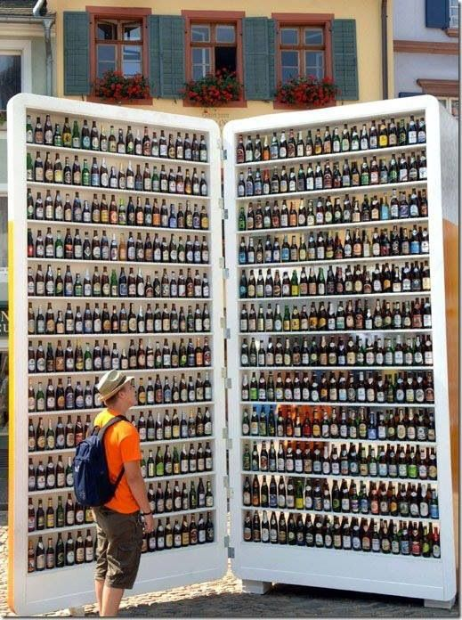 Now that's a Beer fridge...sign me up for one....full please!