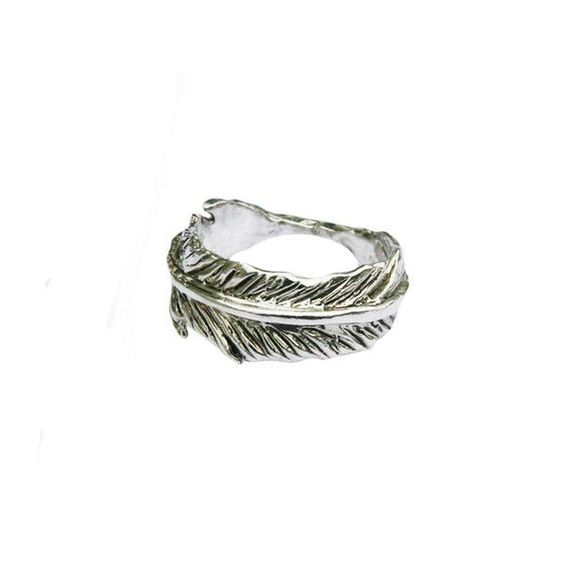 Bearhead Factory Sterling Feather Ring