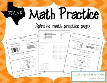 Worksheets Staar Practice Worksheets 7th grade staar math practice worksheets practices equivalent fractions and integers on pinterest