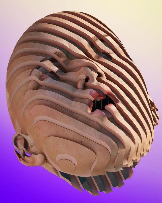 Chad Knight's vibrant digital art moves between... • Hi-Fructose Magazine
