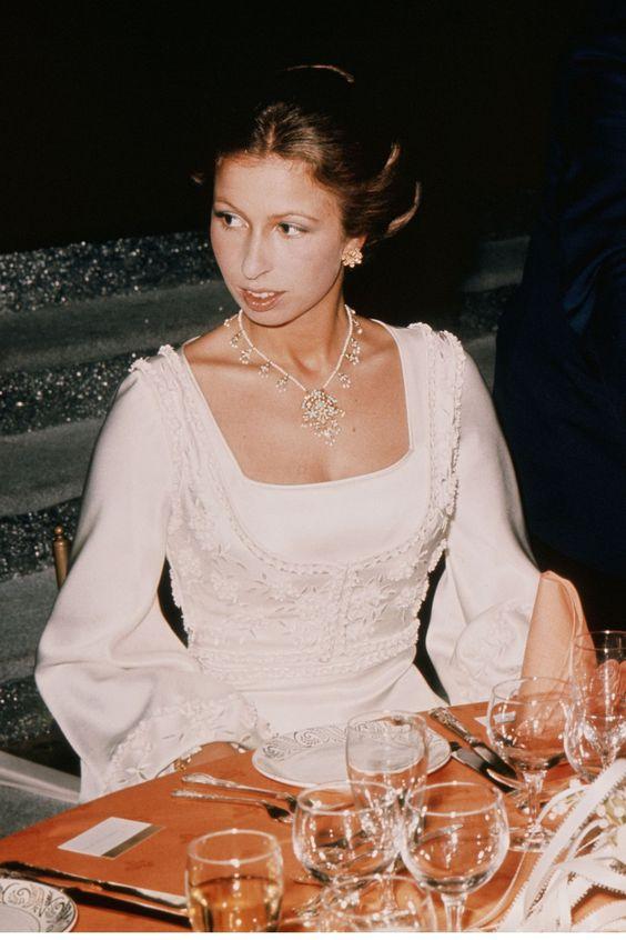 Princess Anne 1973 - HarpersBAZAAR (c) Getty