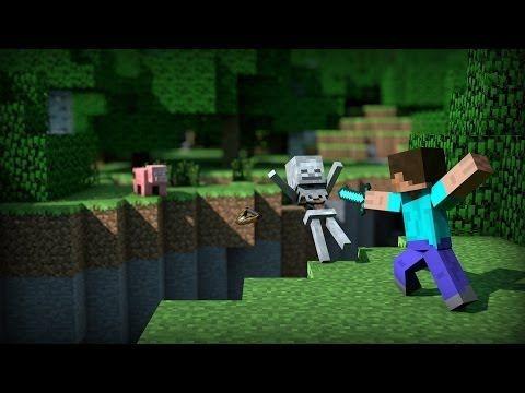 ♪ TOP 15 musicas e animações de MINECRAFT XD - YouTube