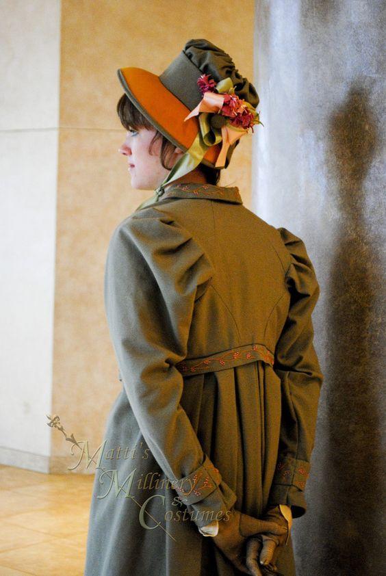 Jane Austen Clothing   Regency Jane Austen dress Spencer Jacket Pelisse P & P Redingote in ...