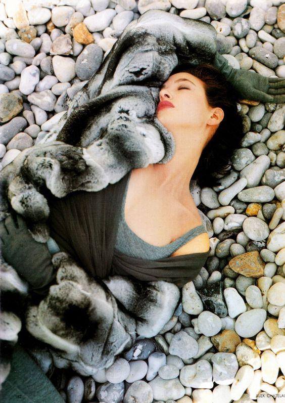 Gail Elliott,  UK Vogue, November 1988
