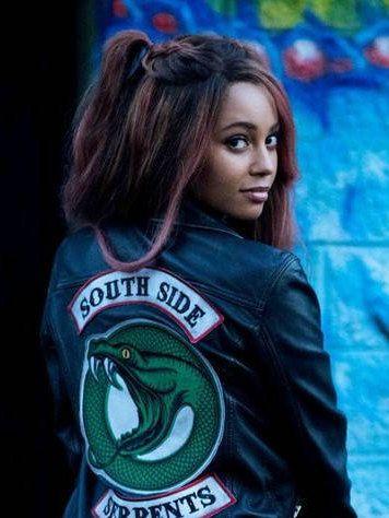 IRON ON PATCH Riverdale Jacket diy Toni Topaz South Side