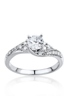 Belk  Co.  1 ct. t.w. Diamond Engagement Ring in 14k White Gold