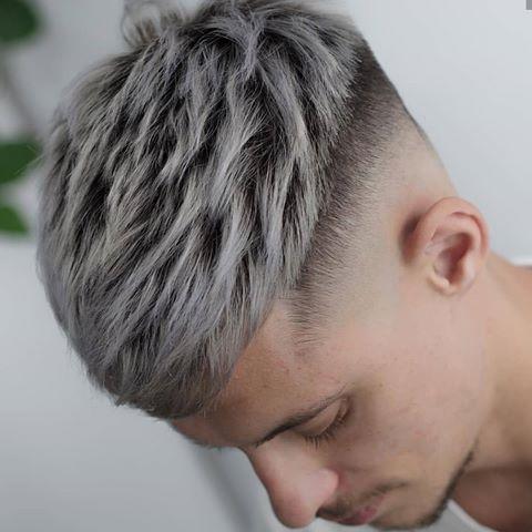 Horatiuthebarber Peinadoshombre Pelo Platinado Hombre Color De Pelo Hombre Estilos De Cabello Hombre