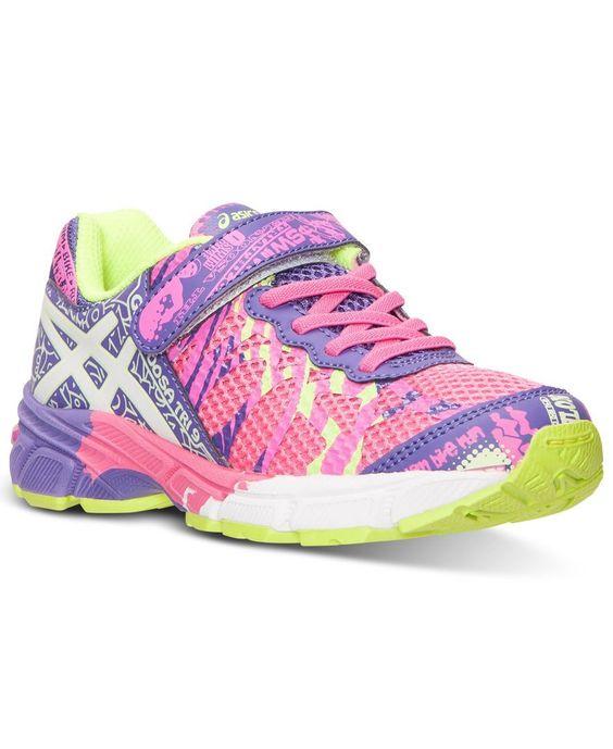 Asics Little Girls' Gel-Noosa Running Sneakers from Finish Line