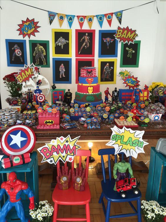Festa super heroi EVA super herói Homem de ferro homem aranha capitão america batman super homem