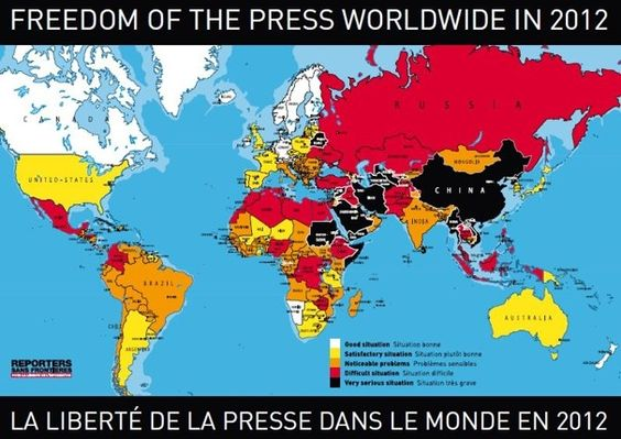 U S Falls 27 Places In Worldwide Freedom Of The Press Rankings Freedom Of The Press World Press Freedom