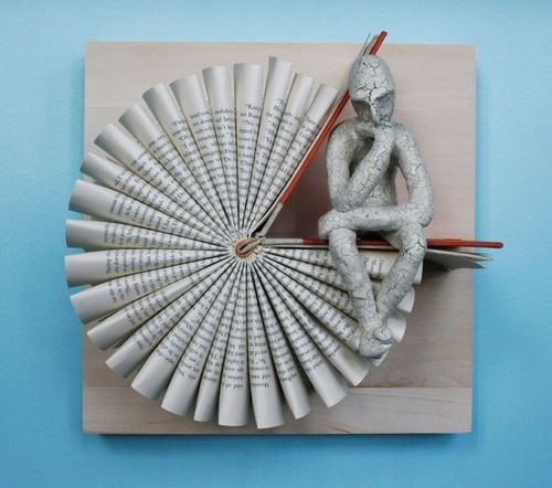 The Thinking Man's Book Sculptures