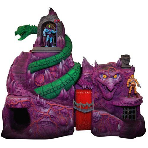 Masters Of The Universe Collector S Choice Snake Mountain Entertainment Earth Masters Of The Universe Playset Large Toy Box