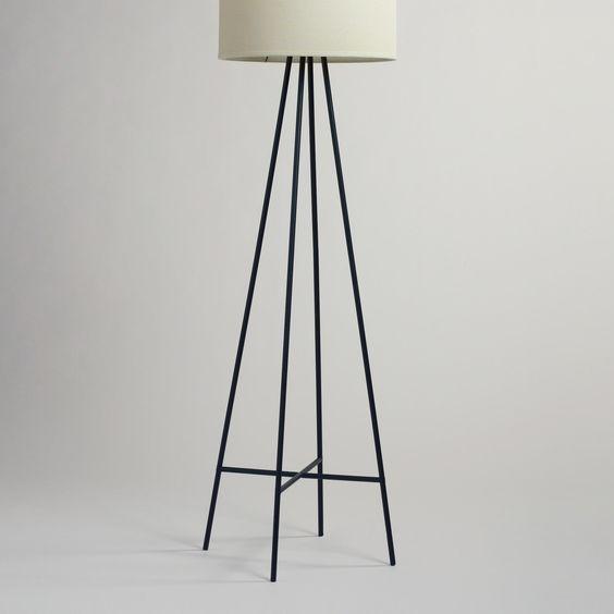World Market Floor Lamp: Tristan Floor Lamp Stand | World Market - Our Tristan Floor Lamp Stand  brings an artistic,Lighting