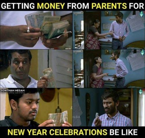 Hilarious Happy New Year Tamil Memes Collection With Images