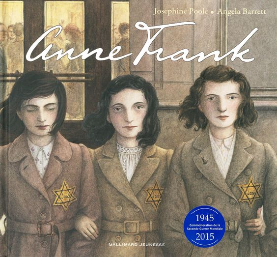 B F828p -- Anne Frank / Josephine Poole, Éditions Gallimard jeunesse (5)