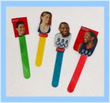 Olympic Athletes Craft Stick Puppets