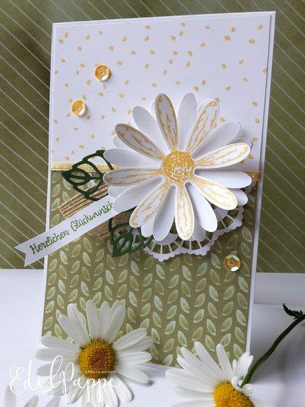 Sommergeburtstag Mit Gänseblümchen Stampinup