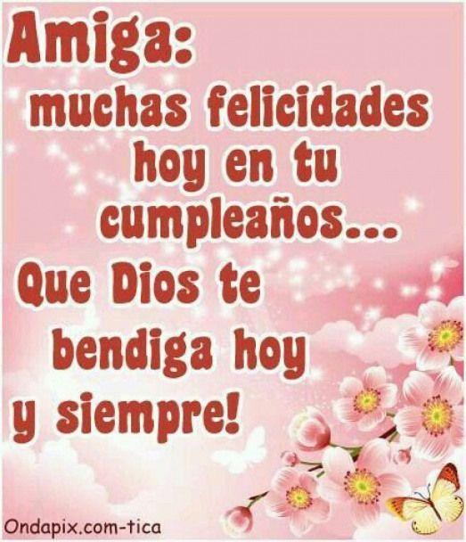 Happy Birthday Birthdayquotes Birthday Quotes In Spanish