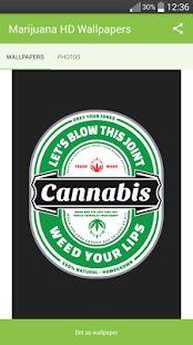Marijuana HD Wallpapers- thumbnail ng screenshot