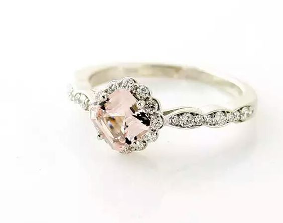 1920s inspired engagement ring