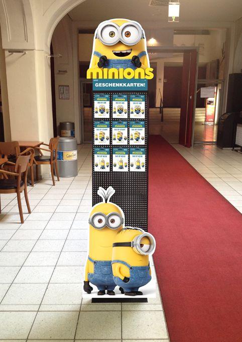 CineStar Minions Geschenkkarten-Kampagne