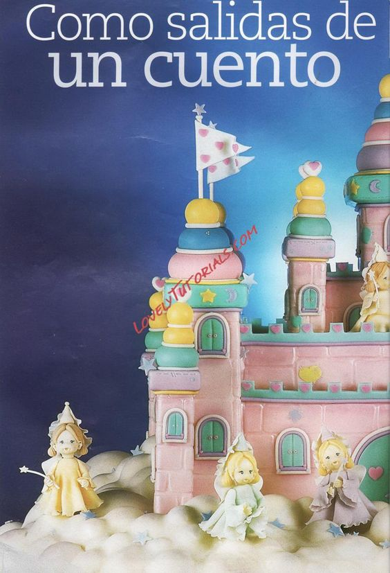 Castle CAKE w/ princess & other ppl, can also be found under Tutorial Misc, lovely tutorials,  boat  Размер: 274.5 Кб