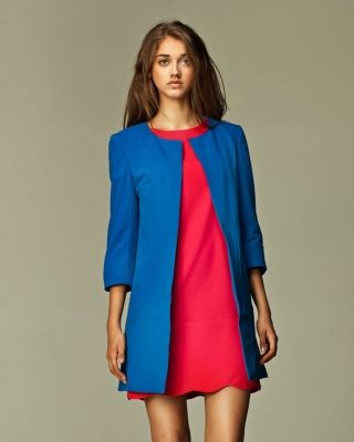 Designer+:+NIFE+-+BLUE+LONG+JACKET+-+$109 Today+on+Mynetsale.com.au!