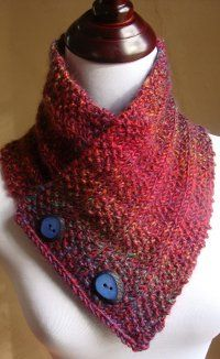 Knit Pattern Cowl Neck Warmer : Boxes Full O Seeds Neck Warmer Wool, Stitches and Knitting needles