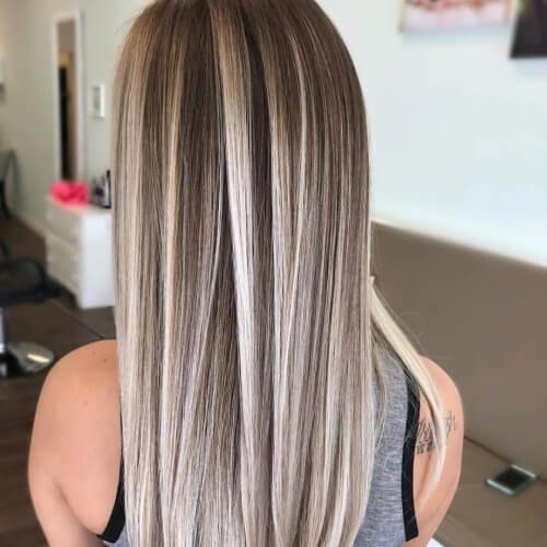 50 Fabulous Highlights For Dark Brown Hair Ash Blonde Hair