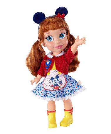Disney Classic Toddler Mickey Doll by Jakks Pacific #zulily #zulilyfinds