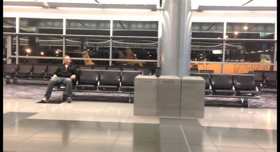Life isn't fair. Sometimes, you get struck overnight 'all by yourself' at the airport.  So, what do you do? You make a hilarious music video, ofcourse!  #CTTrippinWithLaughter
