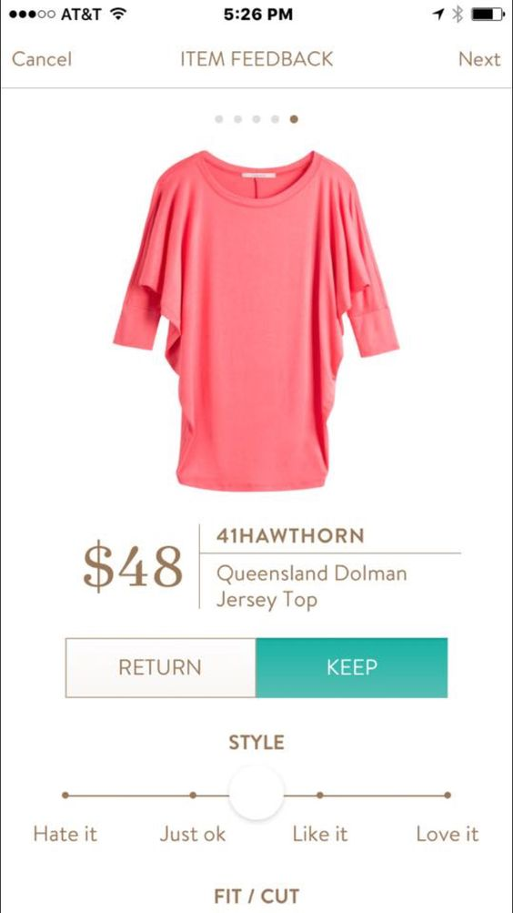 41Hawthorn Queensland Dolman Jersey Top - Love this top in any color, especially coral and royal blue.