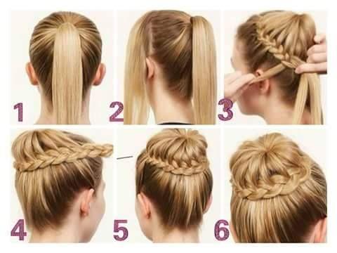 Como aprender hacer peinados bonitos y faciles imagenes - Peinados de moda faciles de hacer en casa ...