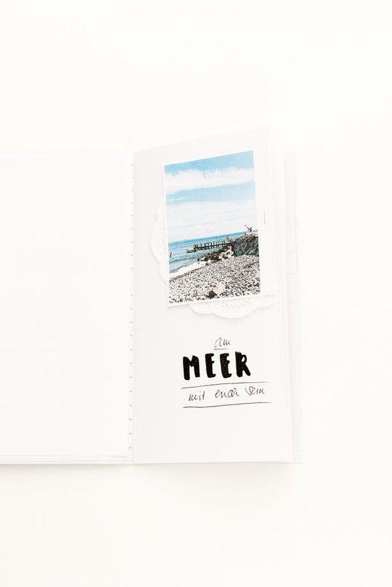 PAPIERPROJEKT Blog - Ein Buch für 'Schöne Dinge' - Schlichtes Minialbum mit…