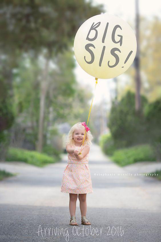 Adorable Pregnancy Announcement #pregnancyannouncement #bigsister #secondchildannouncement