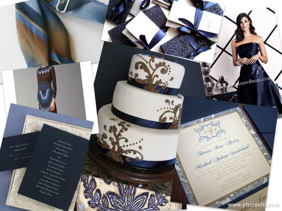 2017 S Hottest Wedding Colors Blue And Silver Colours